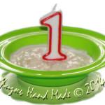 С днем рождения, милый БЛОЖИК!!! Нам сегодня 1 годик!
