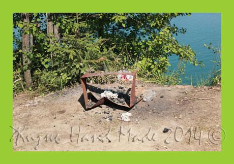 отдых на озере в ленобласти