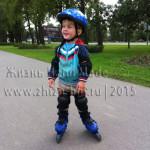 Как научить ребенка кататься на роликах в 3 года?