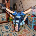 Универсальный чудо-тренажер для ребенка— дома и на улице!!!