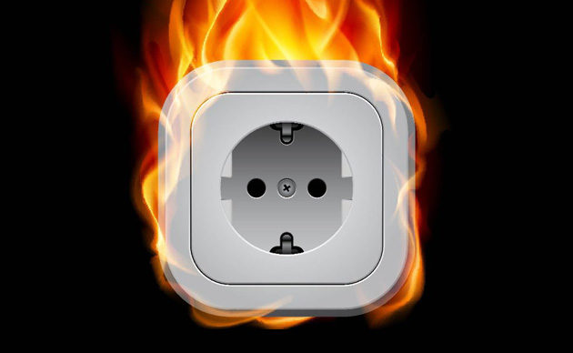 Что делать, если горит утюг или как подружиться с электричеством