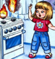 Несколько правил пожарной безопасности, без знания которых школьника оставлять дома одного нельзя