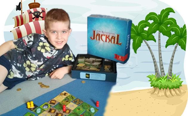 «Шакал»— лучшая настольная игра для детей от 6 лет
