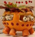 Осенние поделки из тыквы на выставку в школу и детский сад