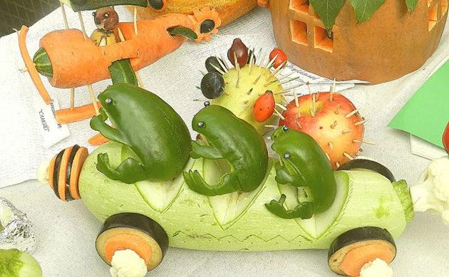Как из шишек, картошки и прочих даров осени сделать шедевры для интерьера и детского садика