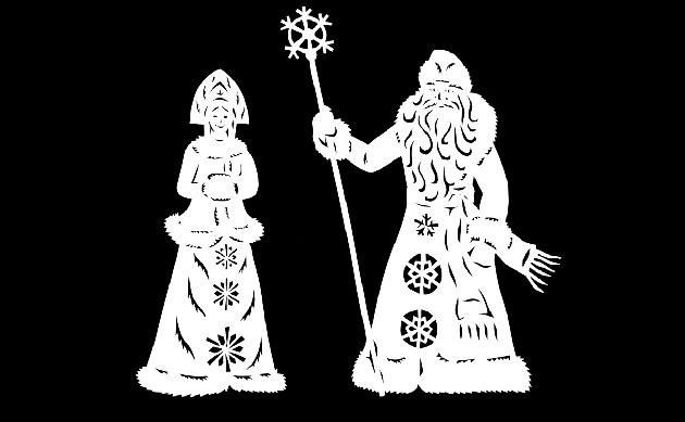 Как украсить окна перед новым годом: новогодние трафареты на окна на любой вкус