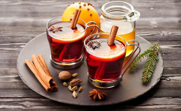 Ароматный глинтвейн в домашних условиях: пошаговые рецепты без алкоголя, из красного и белого вина