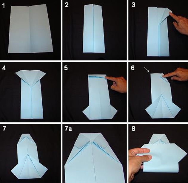 Как сделать открытку рубашку с галстуком с днем рождения