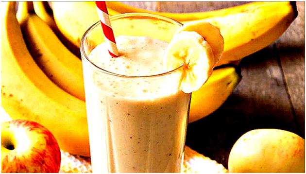 рецепты смузи с бананом