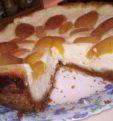 Королевский пирог из песочного теста с творогом и абрикосами в мультиварке